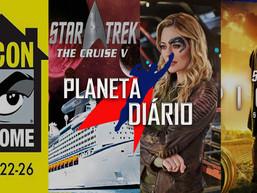 Livro de Discovery, O Cruzeiro V Remarcado, Picard em Blu-Ray e DVD, SDCC online e Série para 7 de 9