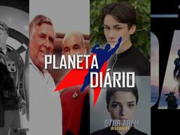 Discovery, Patrick Stewart, Capitão Próton, Superman & Lois, Mulan, The Mandalorian, e Disney+.