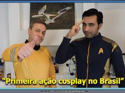 Primeira ação cosplay no Brasil - Diário do Capitão S06EP157