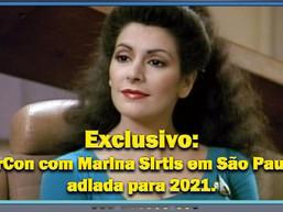 StarCon com Marina Sirtis em São Paulo é adiada para 2021- Diário do Capitão S06EP130