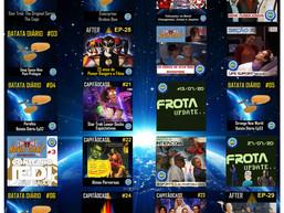 Com 1 mês apenas da estréia da Trek BR Cast, já totaliza até o momento 20 podcasts  lançados.