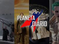 Pingos nos Is; 4ª temporada; AR Wall em Star trek; Modelo de ouro Enterprise-D e Coringa em JL.