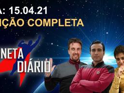 Planeta Diário - 15/04/2021 - Filme / Zachary Quinto / Alex Kurtzman / Strange New Worlds / Prodigy.