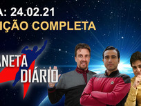 Planeta Diário - 24/02/2021 - Brent Spiner Reboot TNG / Marina Sirtis / ST conta TOS / Home Aranha.