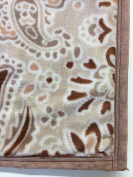 化学繊維の毛布