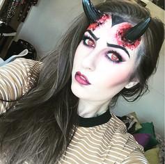 Vampire Horn Makeup - CHARLEY PAYNE MUA