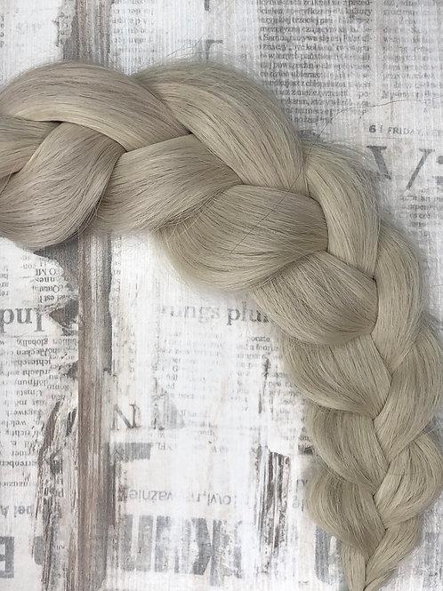 Волосы славянские в срезе Цвет #60 Холодный блонд