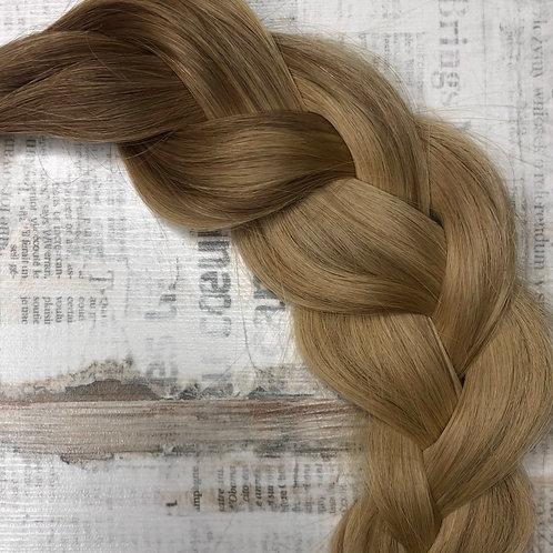Волосы славянские на капсулах Цвет #6.3/14 Омбре
