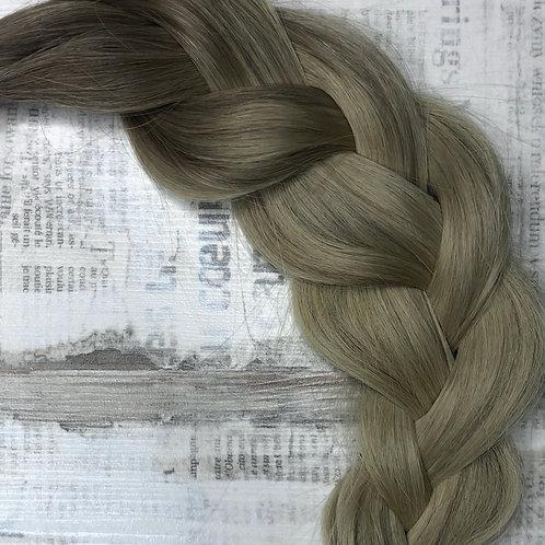 Волосы славянские в срезе Цвет #6.1/18.1 Омбре