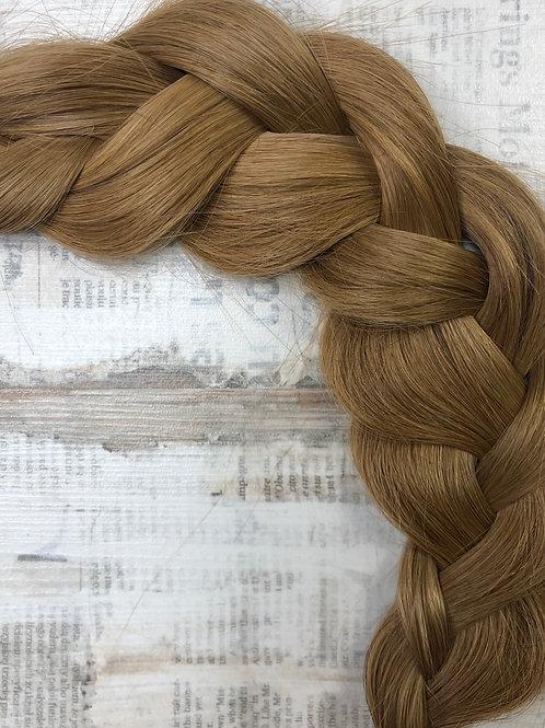 Волосы славянские в срезе Цвет #7.3 Карамельно- каштановый