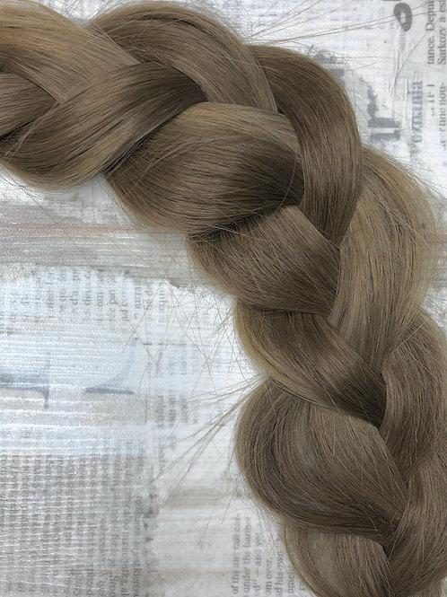 Волосы  на заколках (накладные пряди) Цвет #8 Пепельно - русый