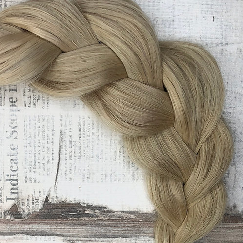 Волосы  на заколках (накладные пряди) Цвет #16 Платиновый блонд