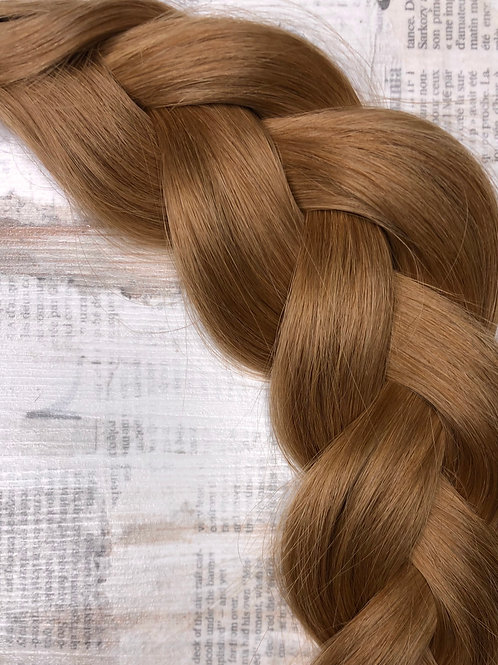 Волосы славянские на капсулах Цвет #7.43 Золотисто - медный
