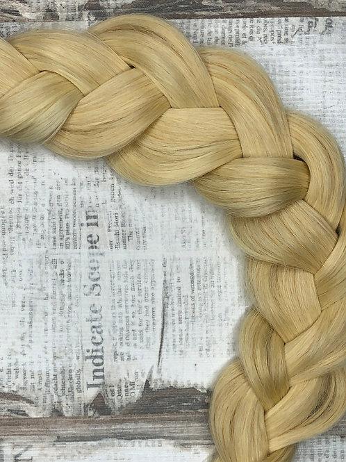 Волосы славянские на капсулах Цвет #613 Теплый блонд