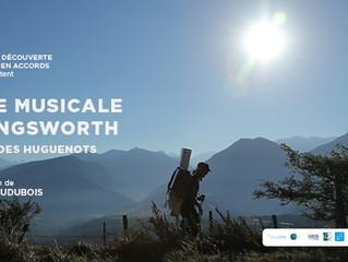 Pour voir le film de la première randonnée musicale de Eric Longsworth sur le sentier des Huguenots