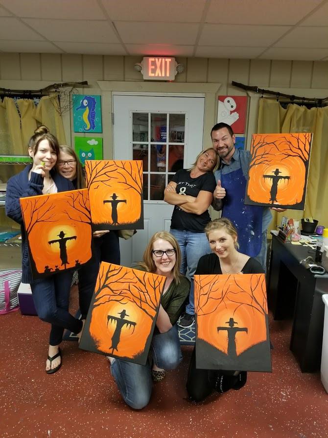 Sip, paint, raise dollars!