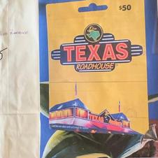 #15 $50 Texas Roadhouse GC
