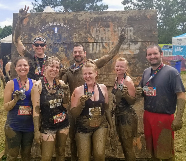 Warriors for Reason happy mud day!
