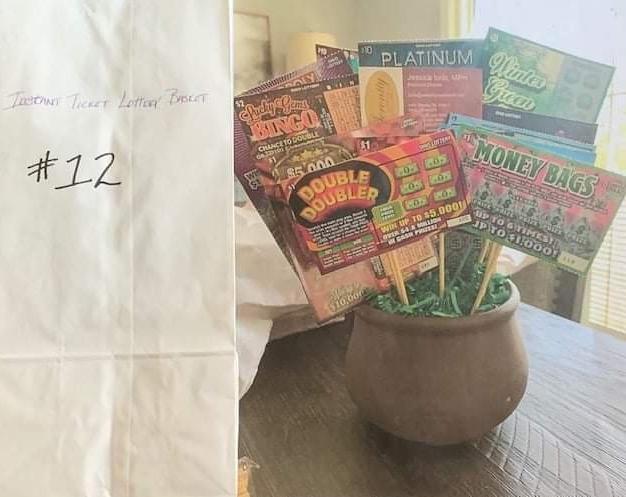 #12 Lottery Scratch-Off Basket