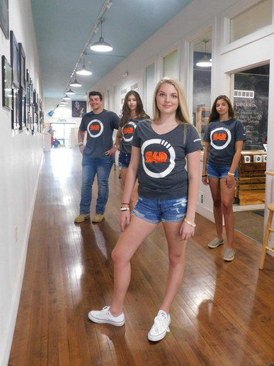 Even the models in the pic volunteered their time!  R4R apparel shown is available in the store now!
