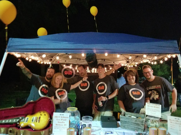 Rock the Amp fundraiser in Warren 2017.