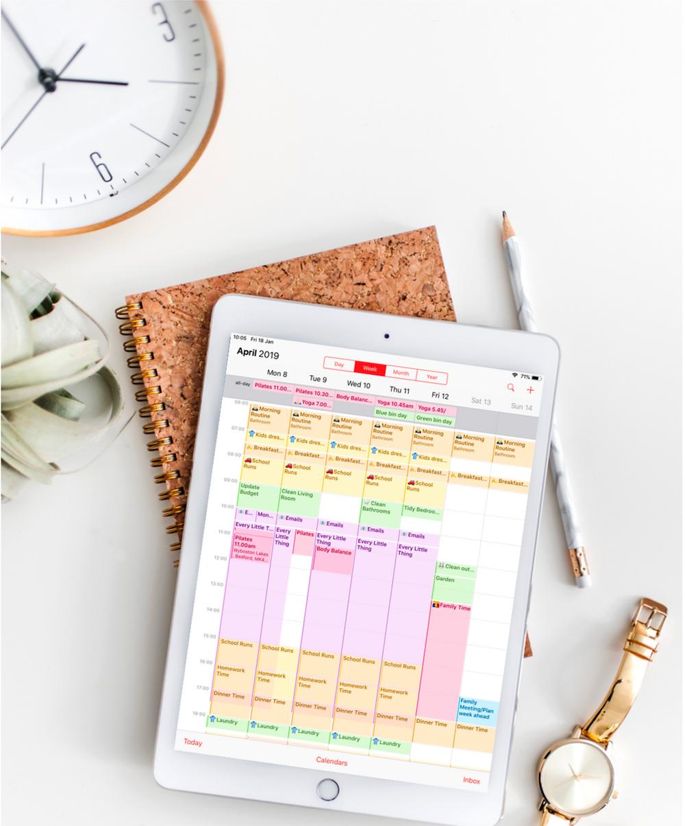 How to organise your calendar