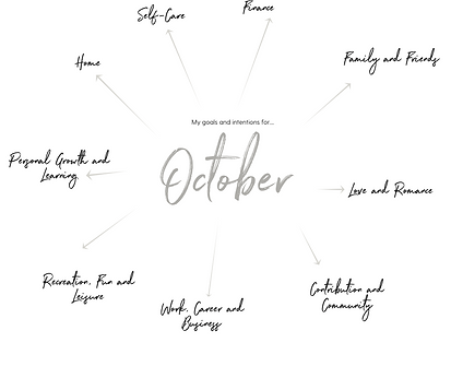 October 2021 Free Monthly Planner Pages