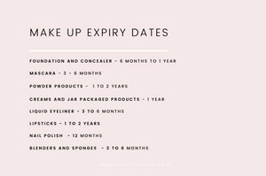 Make Up Expiry Dates