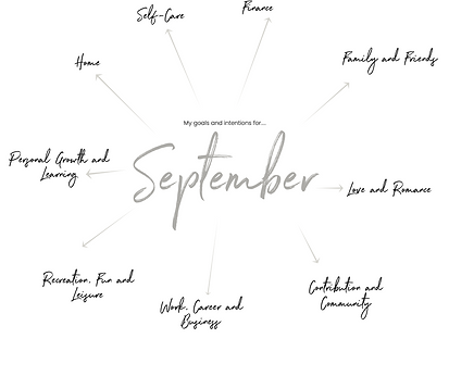 Free Monthly Planner Pages - September -