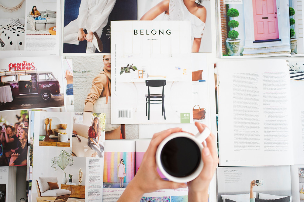 Declutter and Organise Magazines