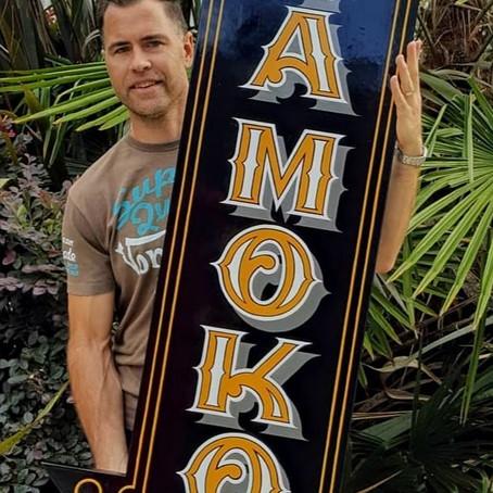 Awesome New Tā Moko Sign by Duane Moyle