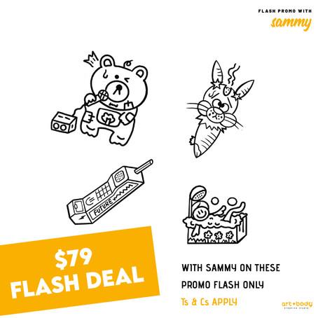 Sammy's $79 Flash Promotion
