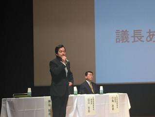 地域市議会報告会(小原交流館)