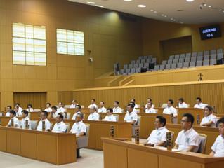 豊田市議会9月定例会開会