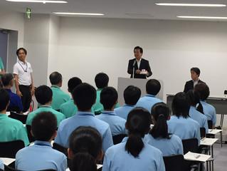 豊田市中学生海外派遣団表敬訪問