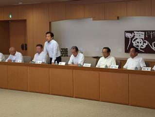 平成29年度当初予算への要望説明会