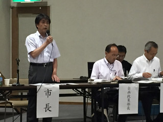 第8次豊田市総合計画素案説明会(高岡コミセン)