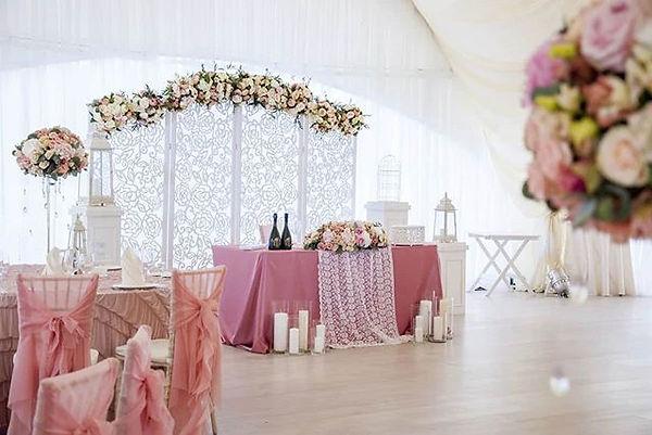 Wir dekorieren, Sie feiern.... Brautklei