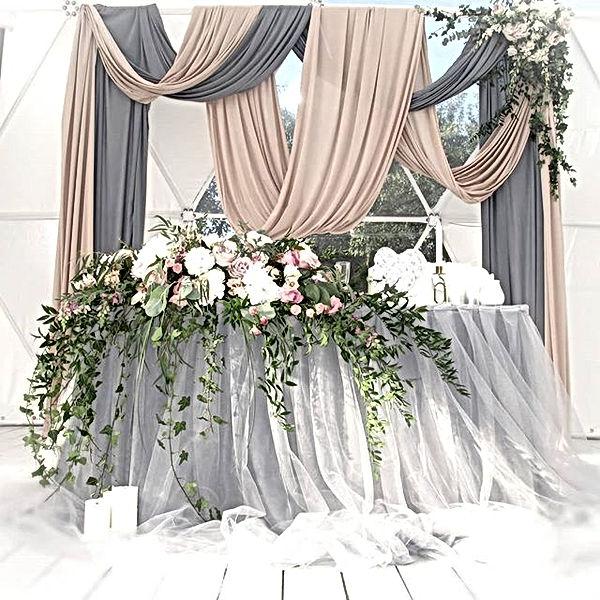 Hochzeitsdekoration in einem Konzept. Wi