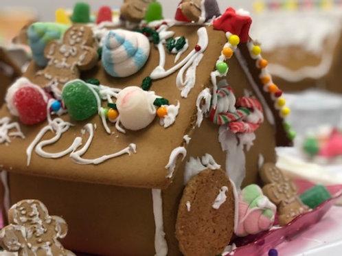 Nov 24. 2020 Open Studio - Gingerbread House Making!