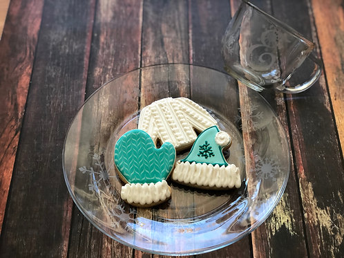 Winter Cookie Decorating and Mug & Plate Sandblasting Workshop