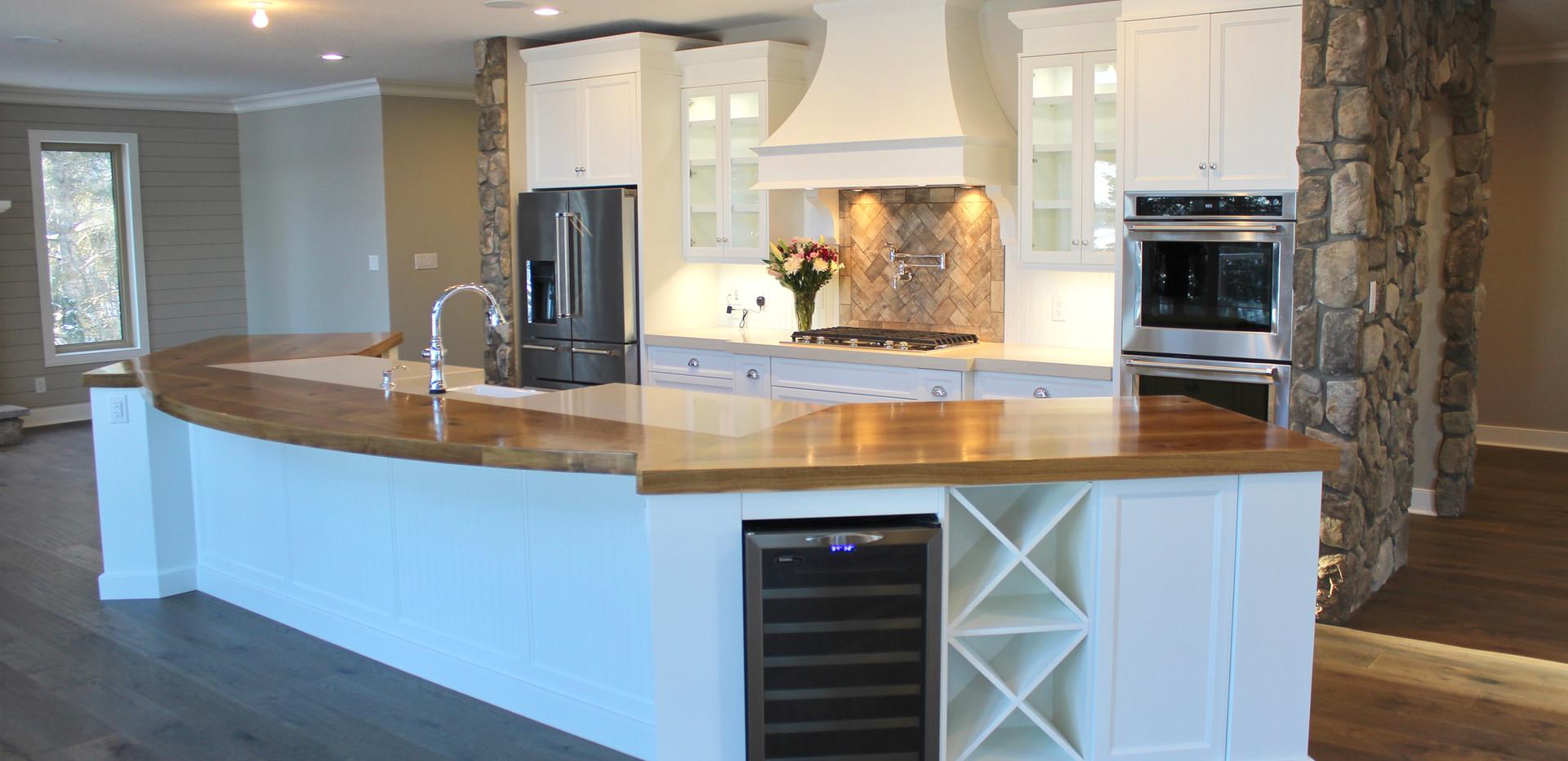 Solid Oak Countertops
