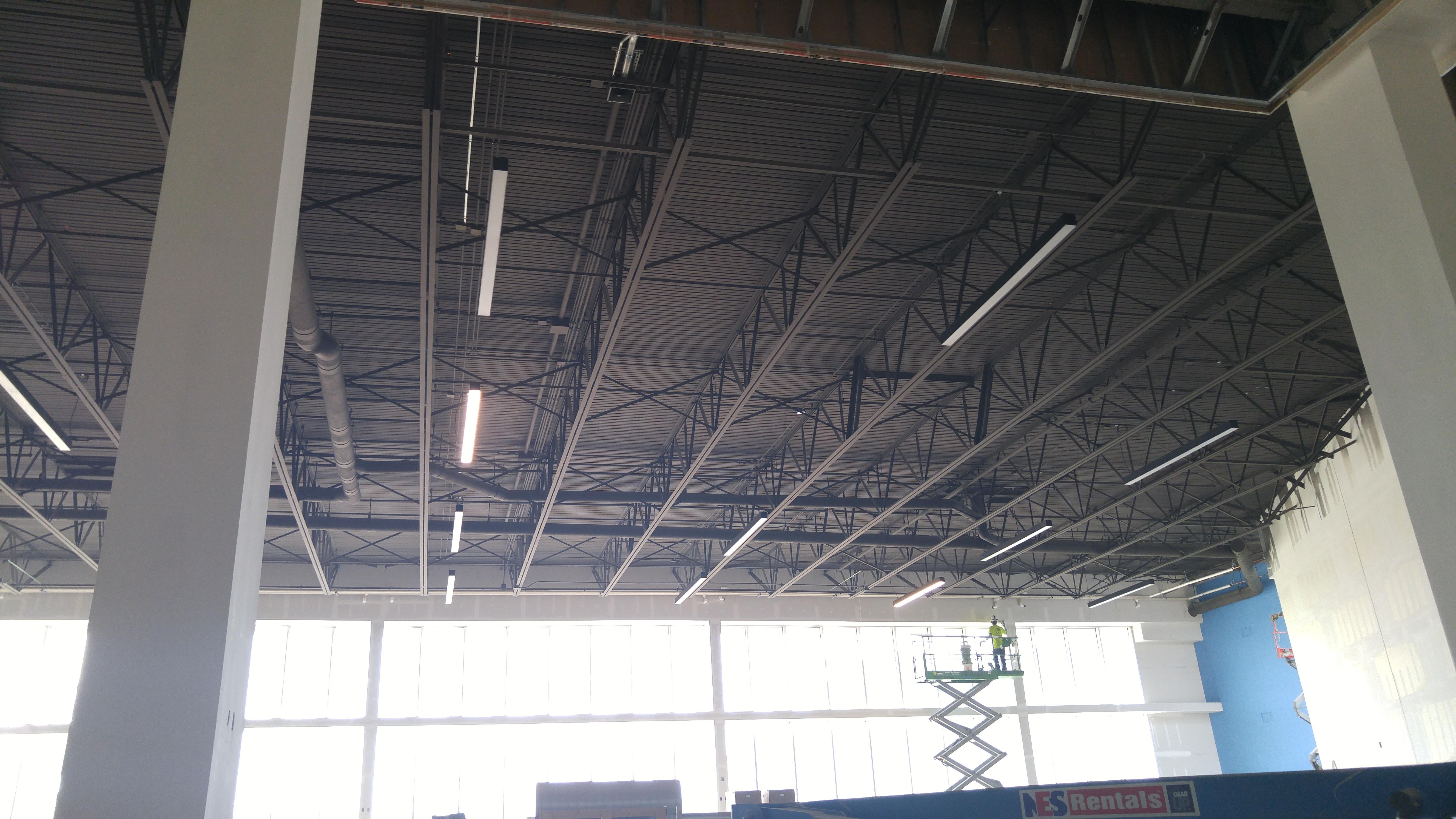 dryfall ceiling