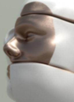 Escultura cara