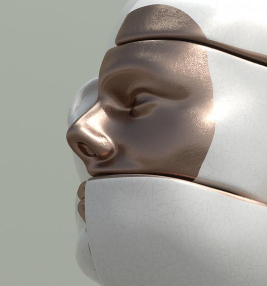 Sculpture Face