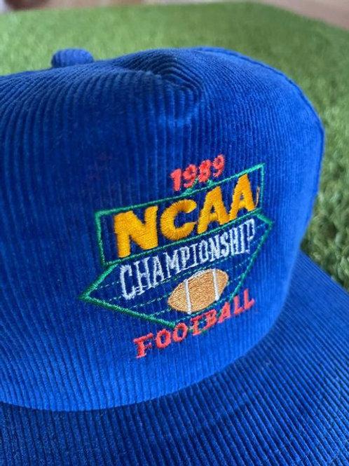 Vintage 80's 1989 NCAA Championship Snapback