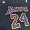 Thumbnail: Lakers 24 Adidas Tee M