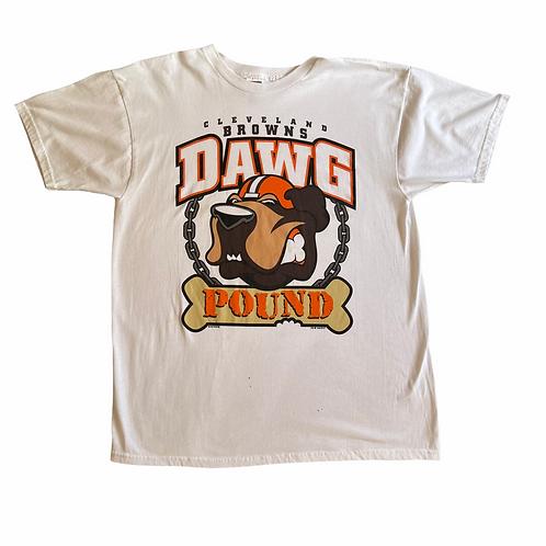 90's Cleveland Browns Dog Pound XL