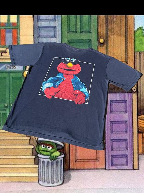 90's Elmo Jeans Co Tee - L
