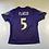 Thumbnail: Reebok - Joe Flacco - Kids Ravens Jersey L